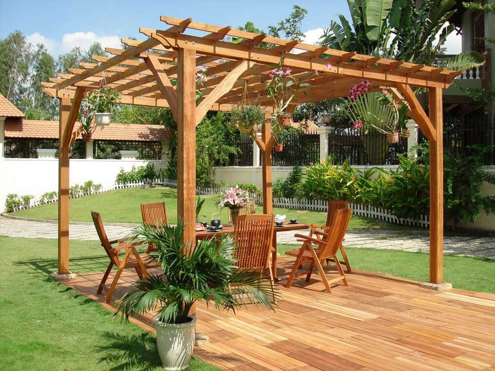 Outdoor Wooden Table Plans Ideas  How To Build A