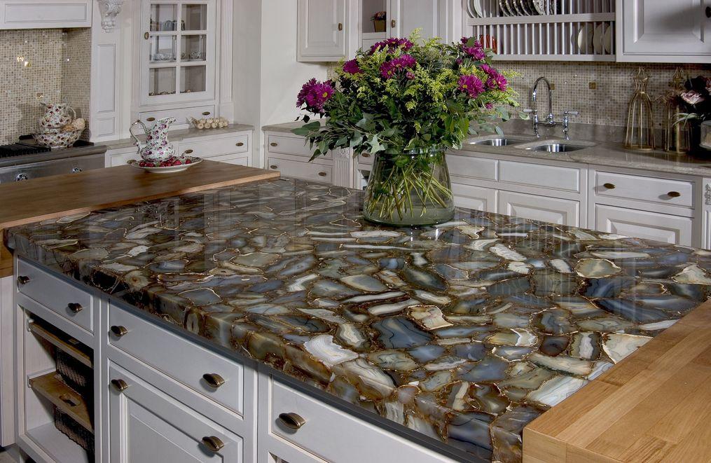Кухня из искусственного камня своими руками